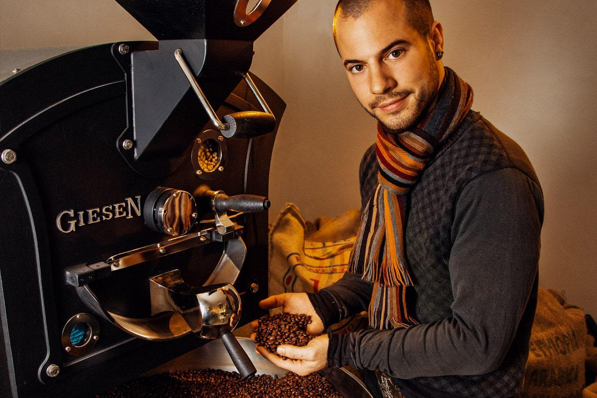 Premium Espresso - Trommelröstung per Hand