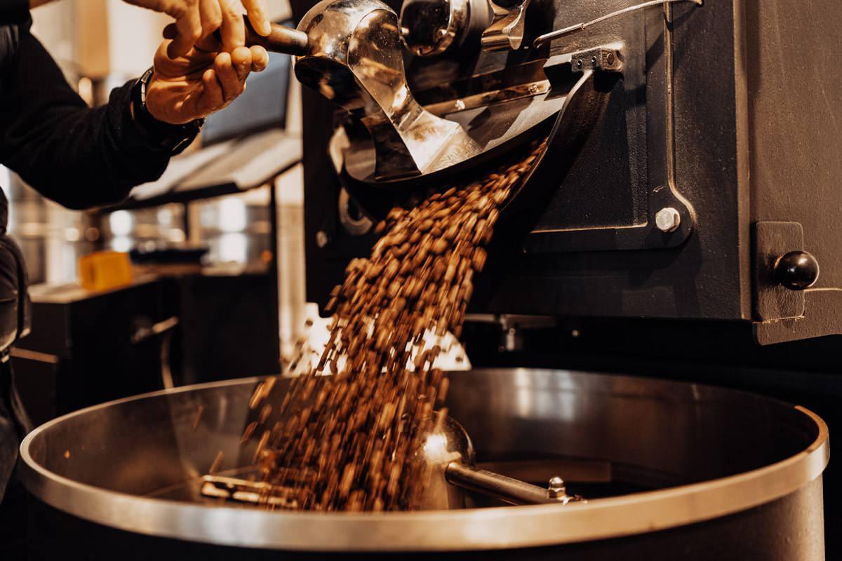 Premium Espresso Röstung